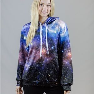 Tops - Unisex 3D Galaxy Hoodie! UNISEX AND BRAND NEW!